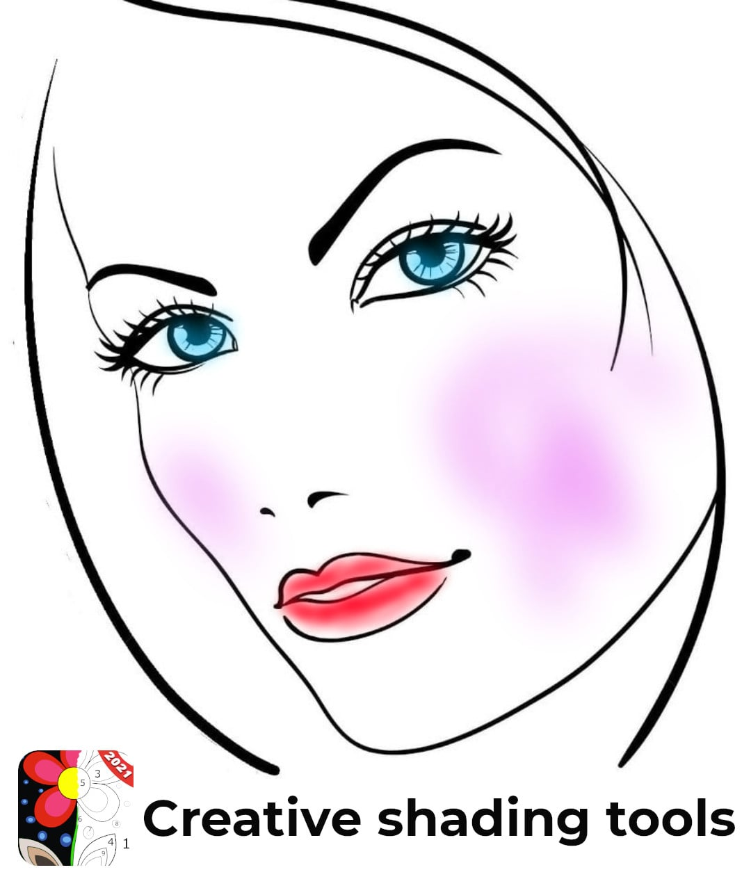 womans face - creative - featured