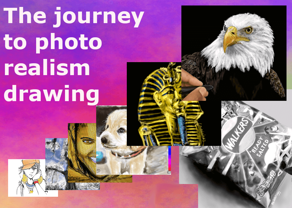 My Journey to Photorealistic Drawings