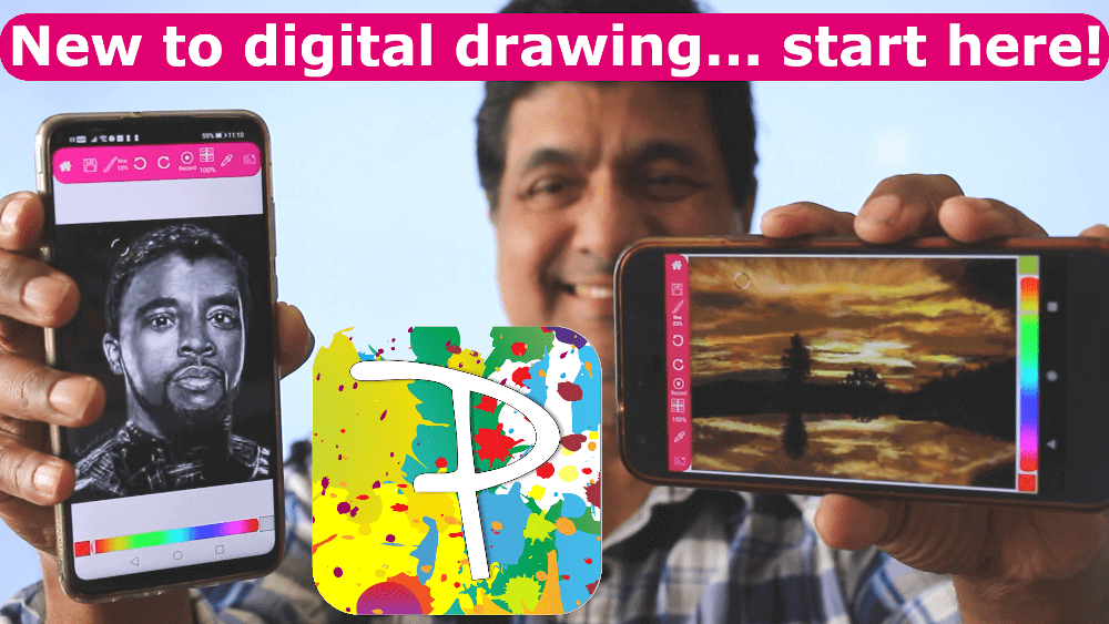 Digital Drawing on Android Phones and Tablets – Artist Review