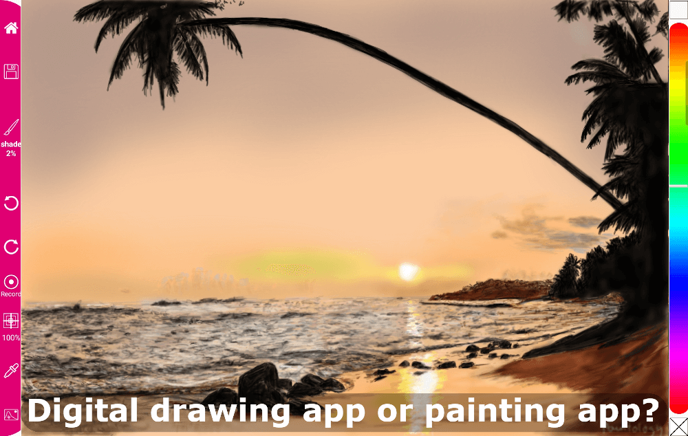 Drawing app and Painting app – What are the differences?