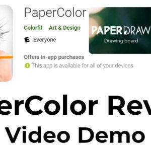 Papercolor app - video guide