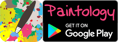water mark for Paintology on Google play store