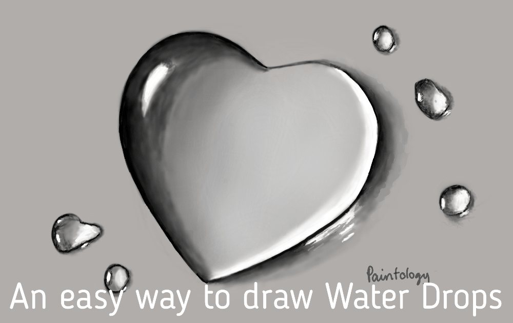 water drop hearts - featured