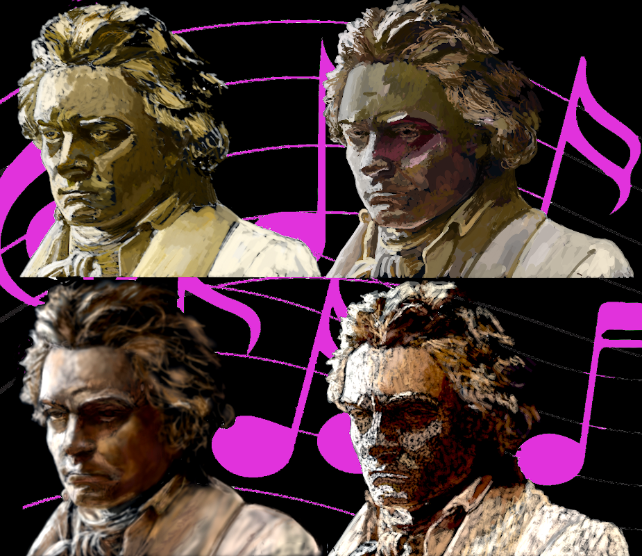 Beethoven Collage