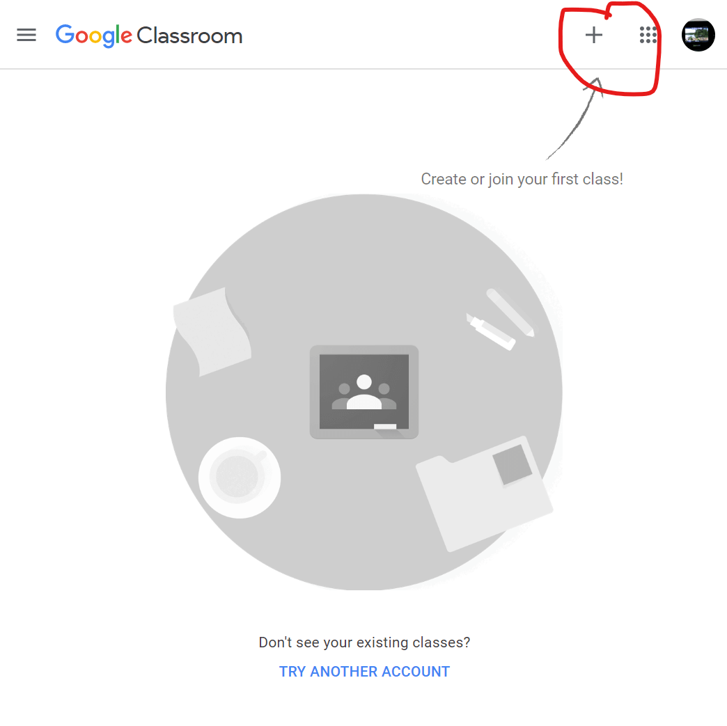 google classroom - join class step 2