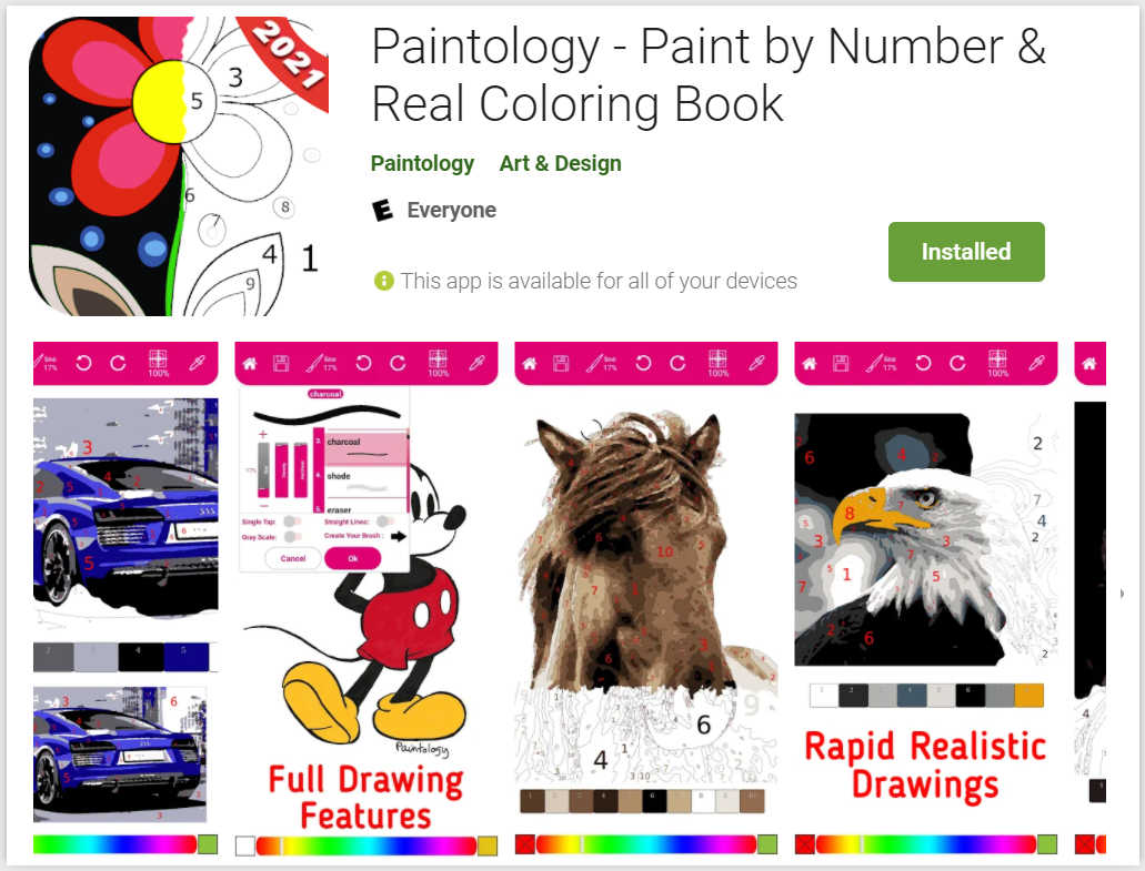 paint by number paintology listing - blog