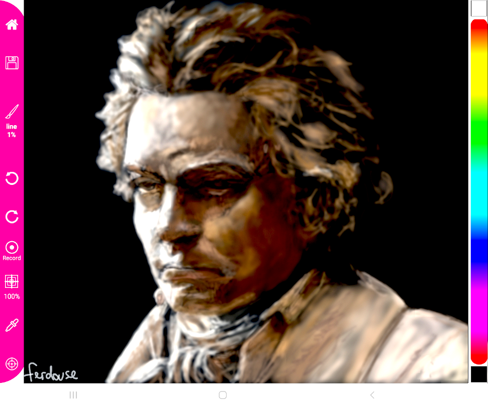 Beethoven - shade brush