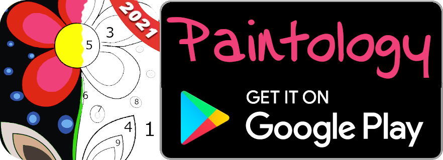paint by number logo