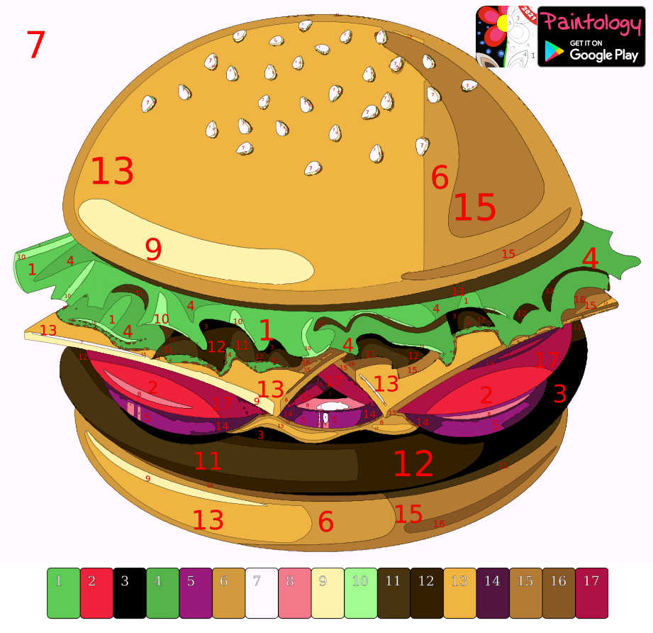 PbyNo - burger colored featured