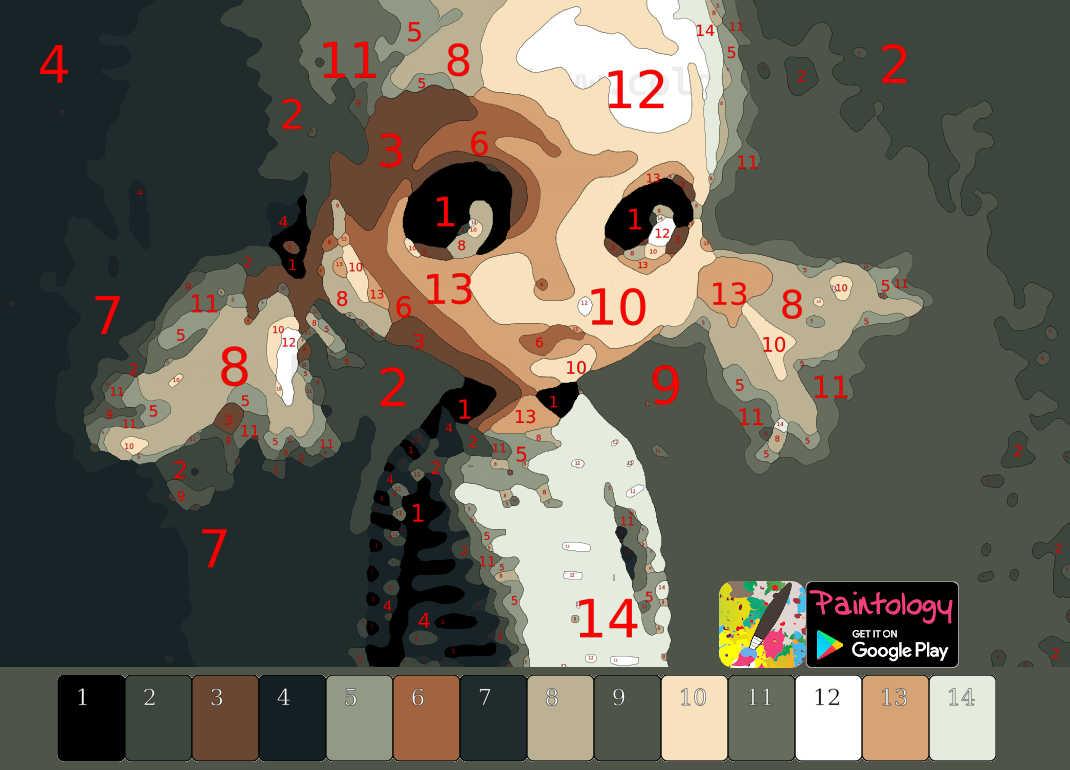 PbyNo template - doll1