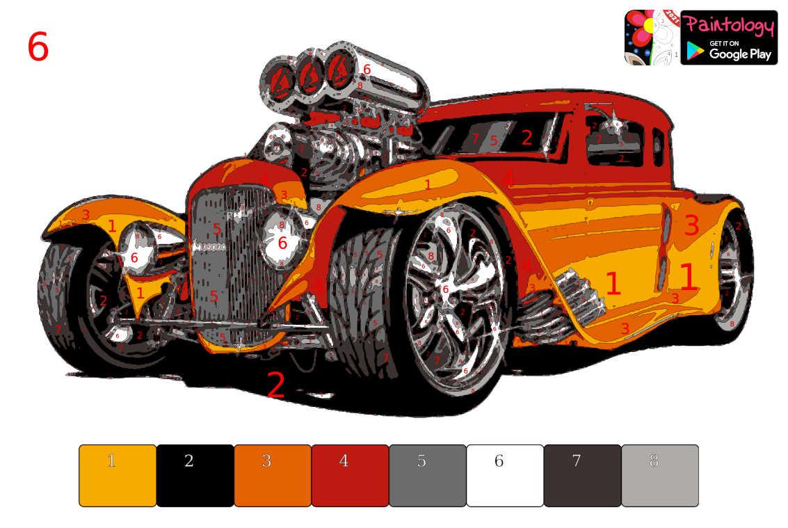 Hot rod car - Featured PbyNo