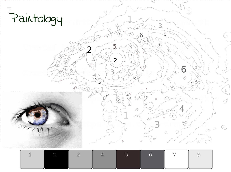 pbyno - drawing the eye template