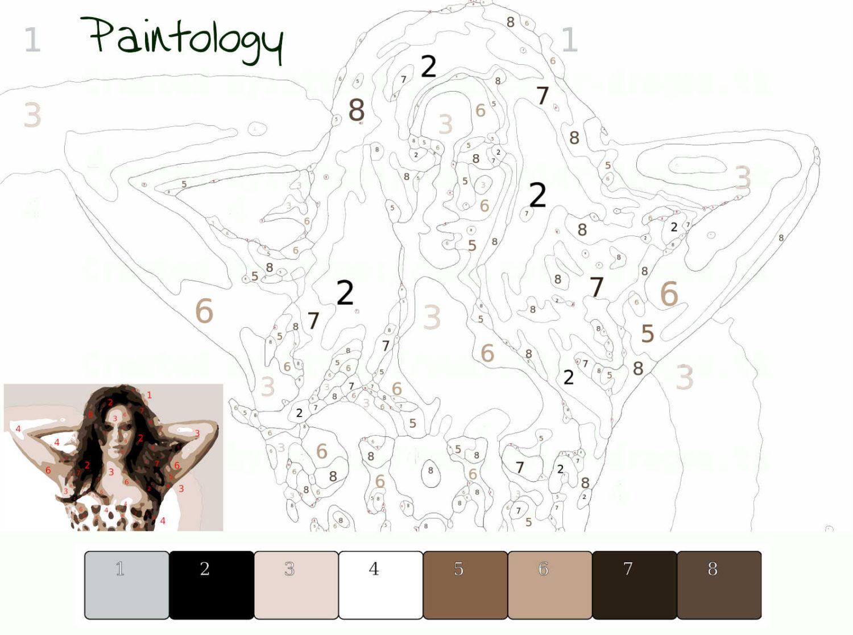 pbyno - model posing - template