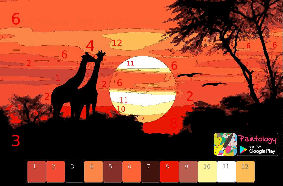 PbyNo - Serengeti sunset - featured