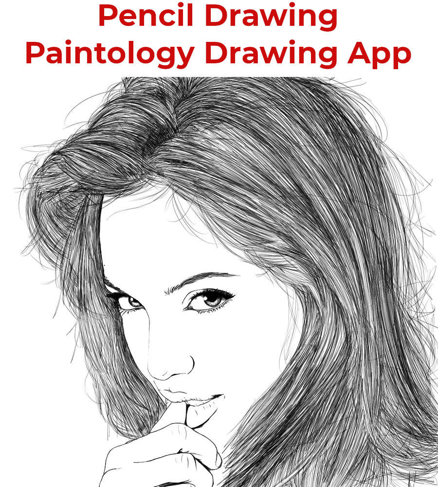 Pencil Drawing Portrait Featured
